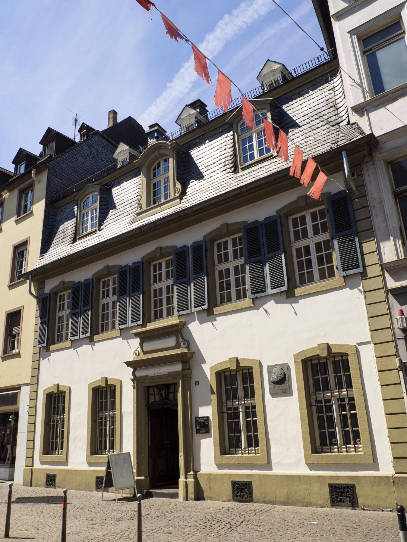Bidl des Karl Marx Haus in der Brückenstraße
