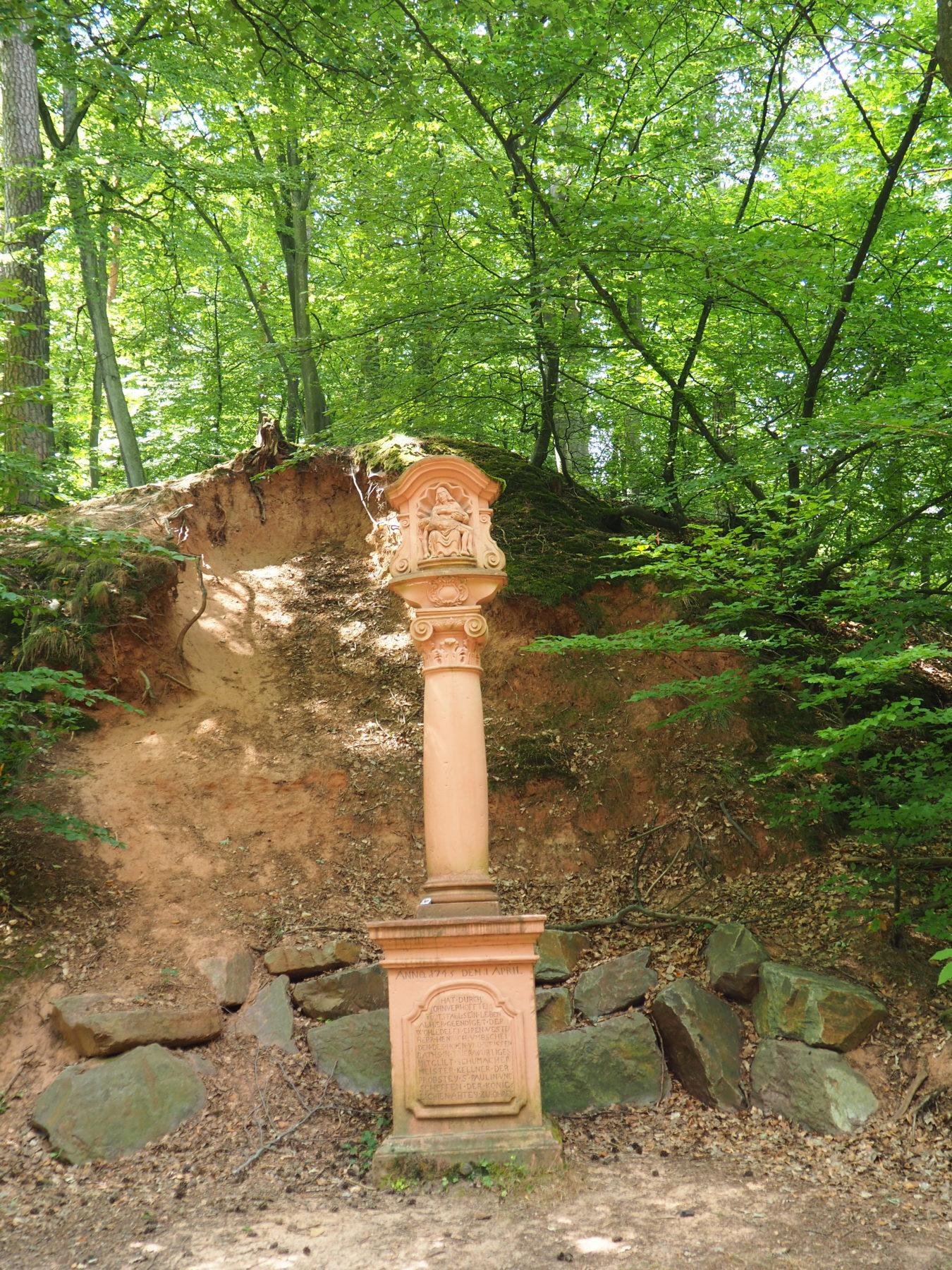 Bild des Schusterkreuz im Weisshauswald